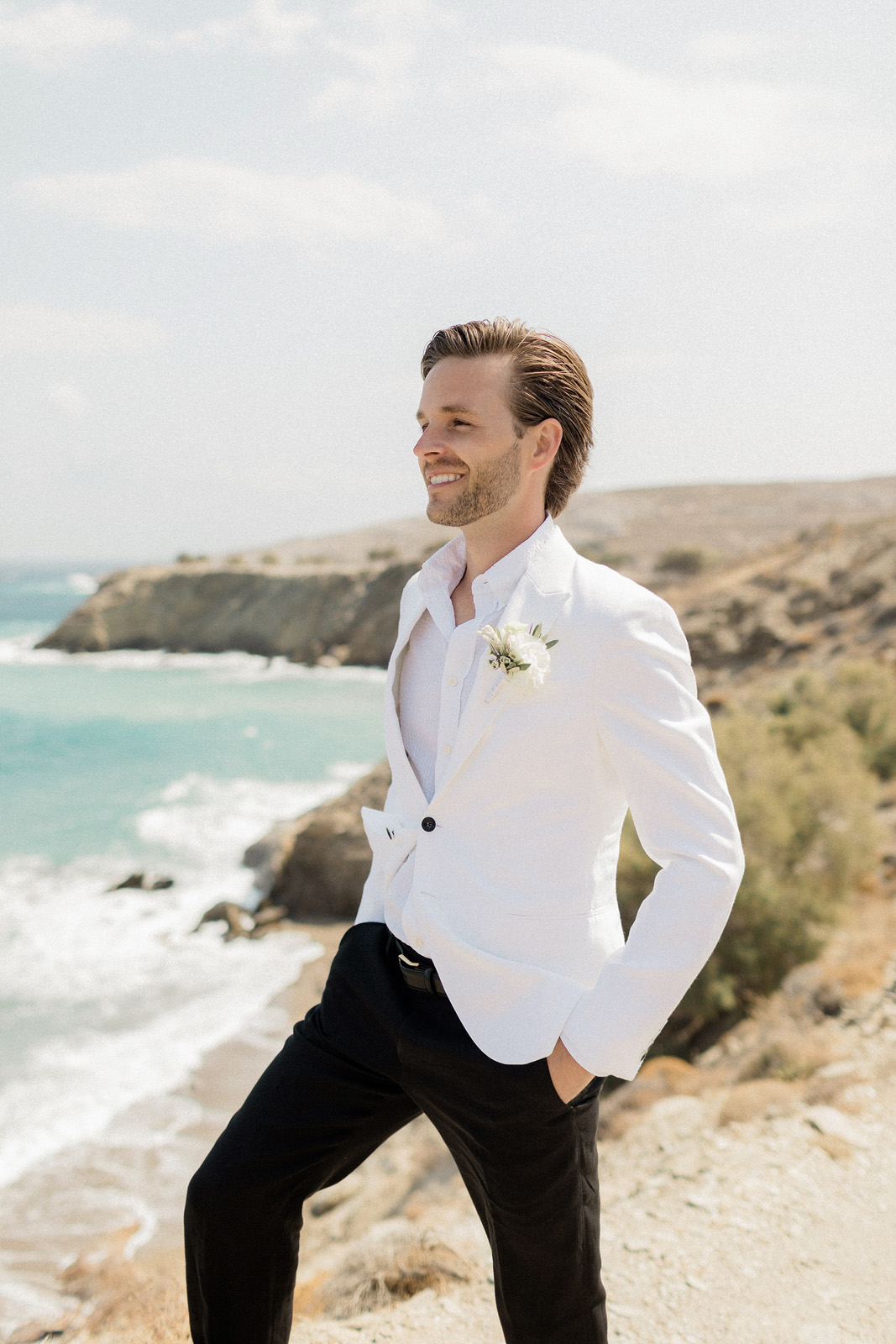 Folegandros romantic boho chic wedding_0022