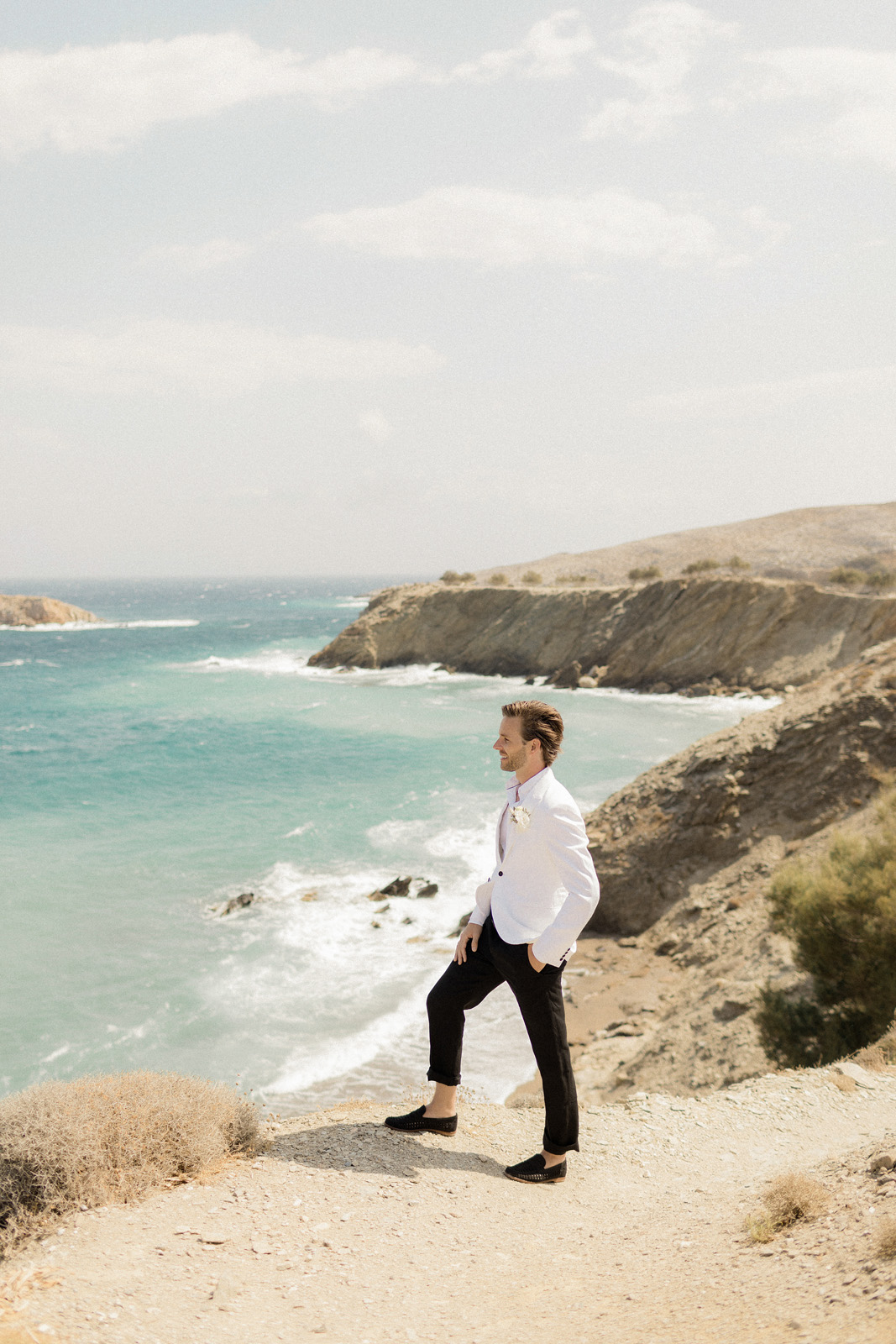 Folegandros romantic boho chic wedding_0023