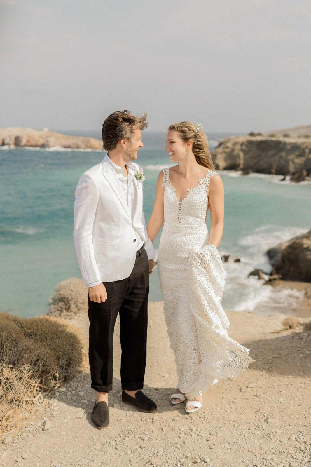 Folegandros romantic boho chic wedding_0040