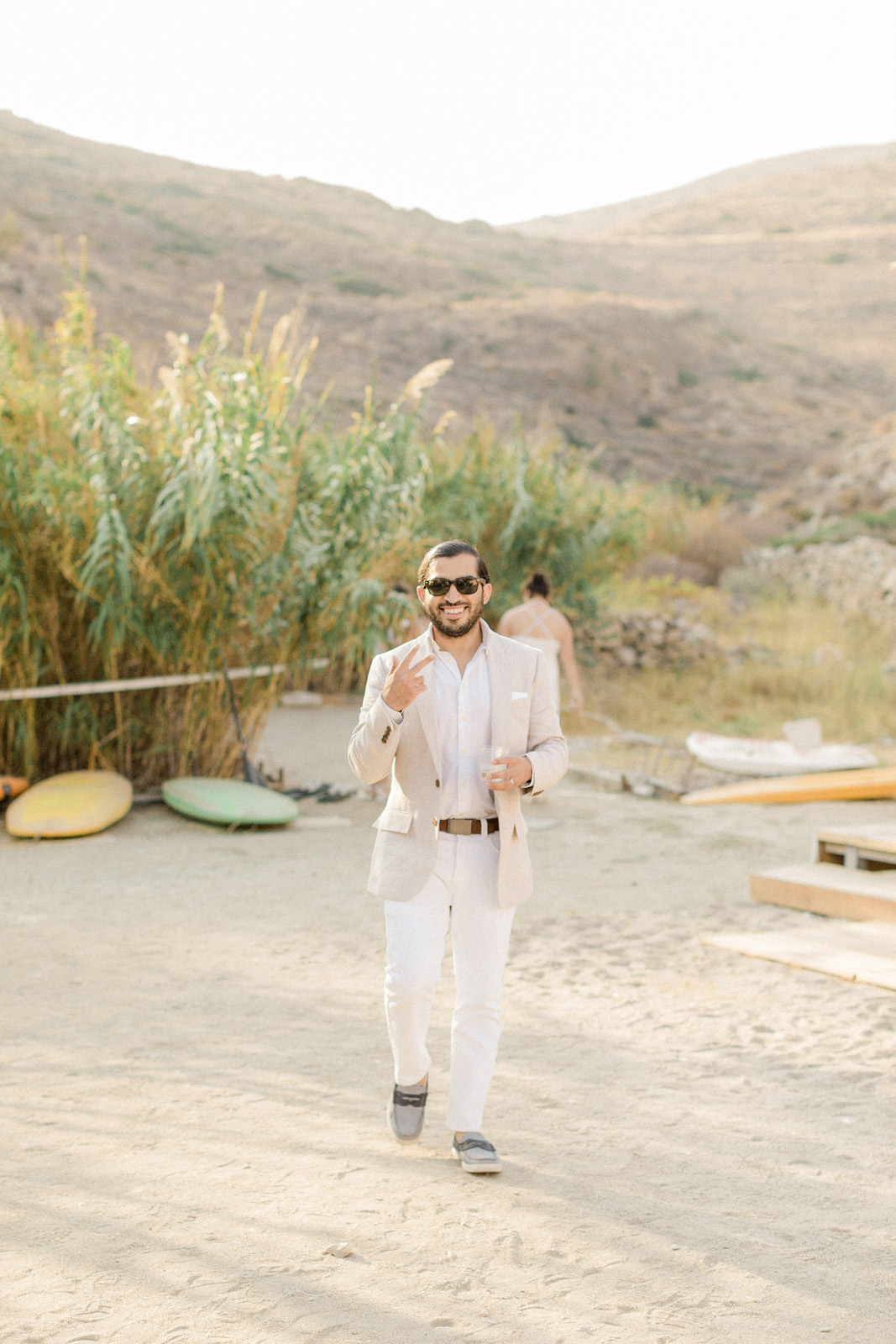 Folegandros romantic boho chic wedding_0062