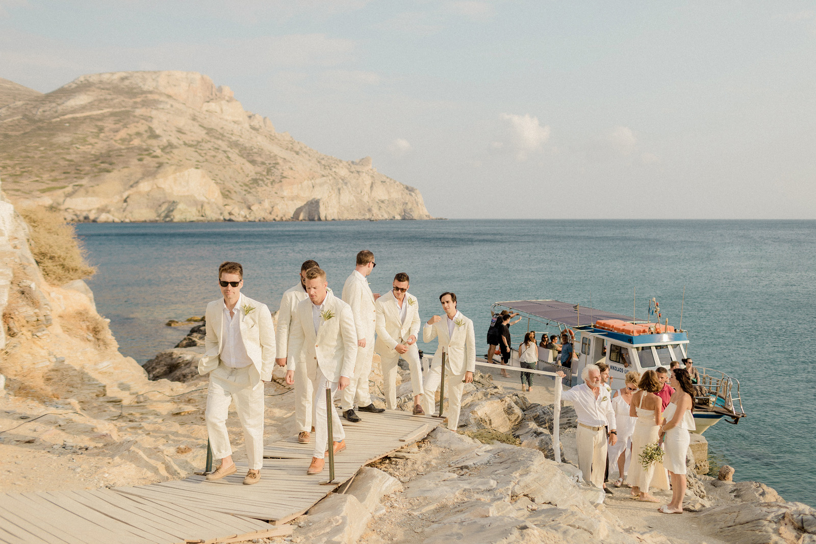 Folegandros romantic boho chic wedding_0064