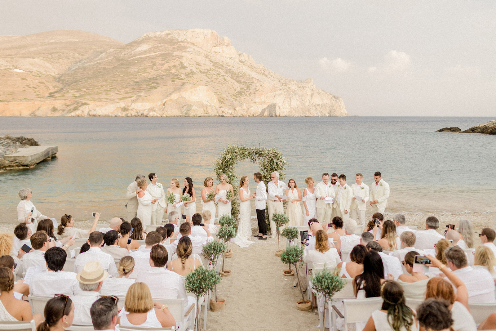 Folegandros romantic boho chic wedding_0080